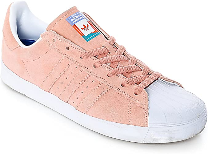 Amazon.com   adidas Superstar Vulc ADV CG4839 - Pastel Pink - US ...