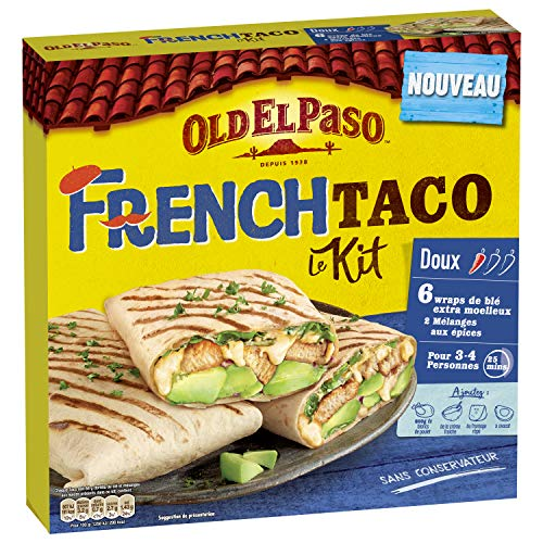 Old El Paso Kit French Taco 385 g
