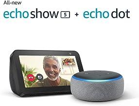 Echo Show 5 with Echo Dot (3rd generation)