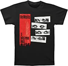 Misfits Men's 3 Hits from Hell Slim Fit T-Shirt Black