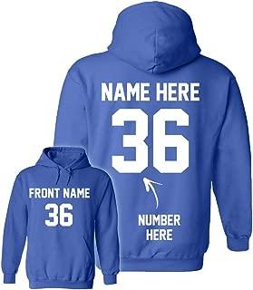 baseball hoodies custom