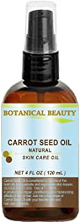 "CARROT SEED OIL 100% Natural Cold Pressed Carrier Oil. 4 Fl.oz.- 120 ml. Skin, Body, Hair and Lip Care.""One of the best oi..."