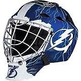 Franklin Sports NHL Tampa Bay Lightning Hockey Goalie Face Mask - Goalie Mask for Kids Street Hockey - Youth...