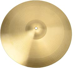 """Percussion 16"""" Crash Cymbal, Copper Alloy for Drum Set Use, Suitable for Beginners and Percussion Enthusiasts."""
