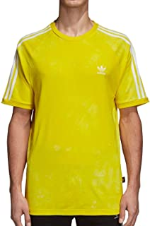 Mens Pharrell Williams hu Holi Tee - Yellow CW9102