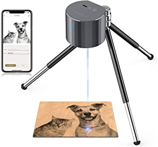 Laser Engraver Machines, LaserPecker Pro Engraver Mini Handheld Etcher Laser Printer Cutter Desktop Laser Engraving Etchin...