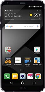 LG G6+ - 128 GB - Unlocked (AT&T/T-Mobile/Verizon) - Black - Prime Exclusive - with Lockscreen Offers & Ads