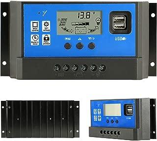 Regolatore di carica 10A 12V 24V con timer e crepuscolare EPRC10-EC