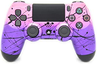 Hand Airbrushed Fade Playstation 4 Custom Controller (Pink & Purple)