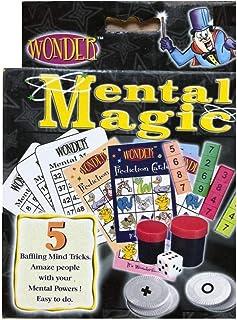 Wonder Mental Magic Kit MAGIC TRICKS (5 tricks with instructions)