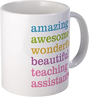 CafePress Amazing Teaching Assistant Mugs Unique Coffee Mug, Coffee Cup