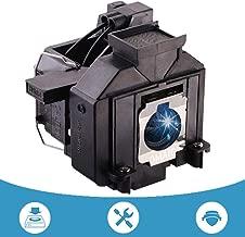 OMAIC Projector Lamp Bulb for Epson ELPLP69/ V13H010L69 Home Cinema PowerLite 5020ub 5030ub 5025ub 5020ube 5030ube 5010E 6030ub 6020UB 6010 4030 Replacement Projector Lamp/Bulb