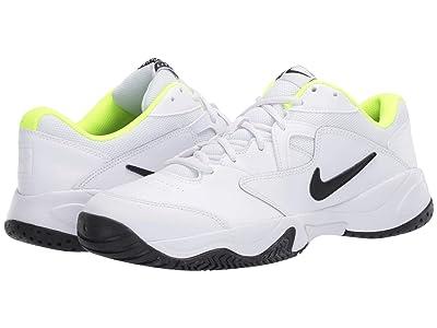 Nike Court Lite 2 (White/Black/Volt) Men