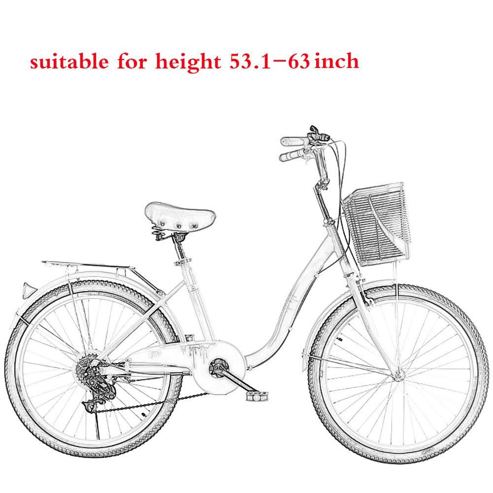 YHDP Bicicleta,Estilo Retro Crucero Bicicletas De Cercanías ...