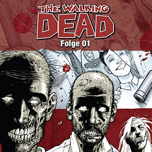 The Walking Dead 1 audiobook cover art