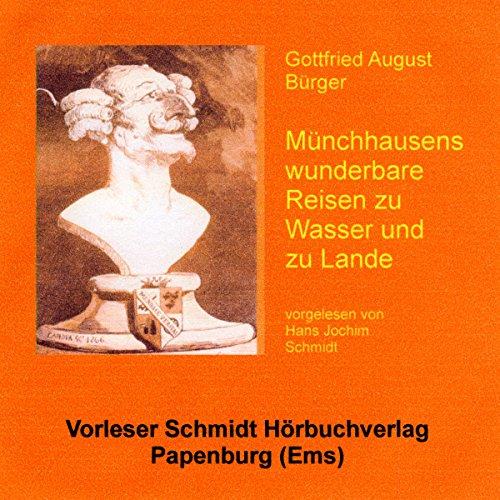 Münchhausens wunderbare Reisen zu Wasser und zu Lande Titelbild