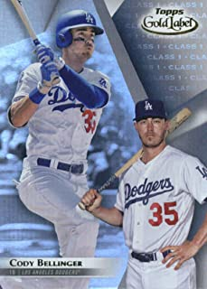 2018 Topps Gold Label Class 1#54 Cody Bellinger Los Angeles Dodgers Baseball Card