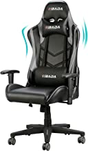 Hbada Gaming Chair Racing Style Ergonomic High Back Computer Chair with Height Adjustment, Headrest and Lumbar Support E-S...