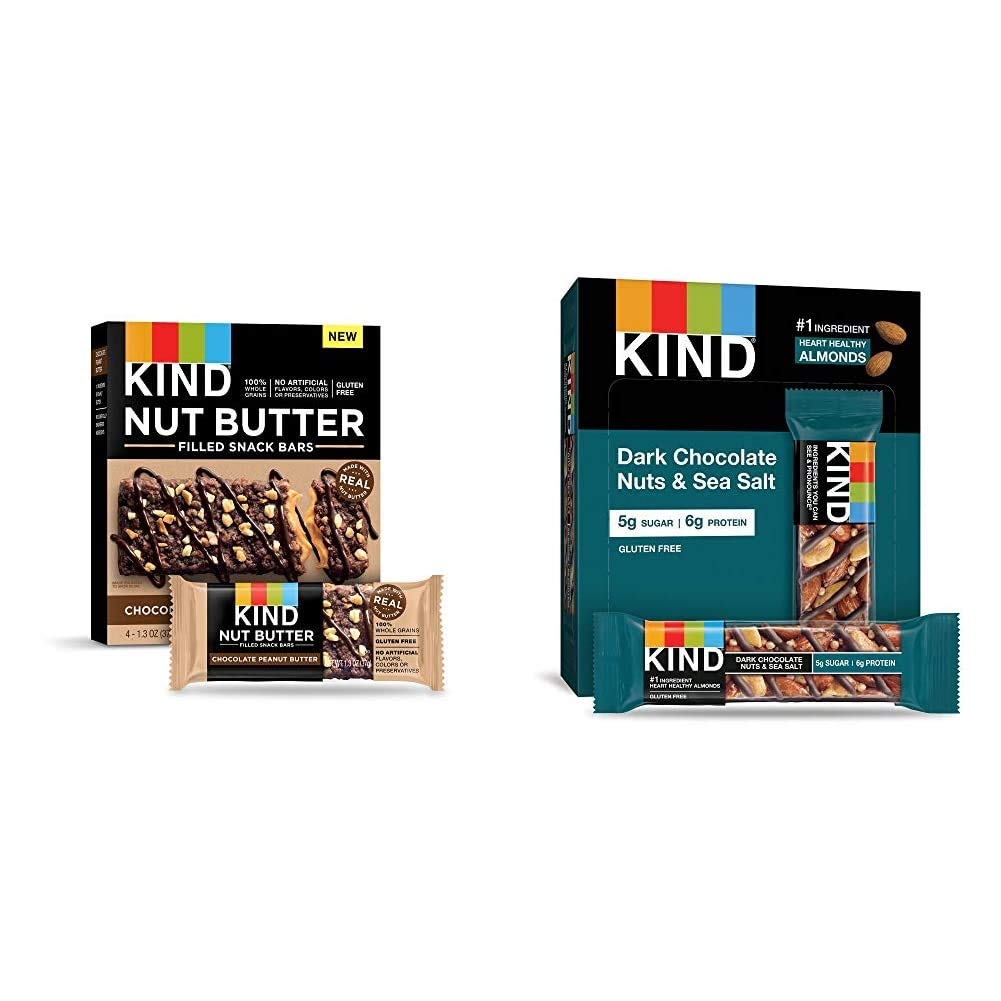 KIND Nut Safety and trust Filled Bars Chocolate 32 Sacramento Mall Butter Count Peanut