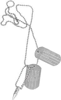 Zealsy Military Locket Dog Tag Chain