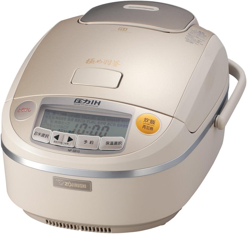 5.5 Max 48% OFF If cooked IH security pressure rice pri cooker ZOJIRUSHI NP-SB10-NP