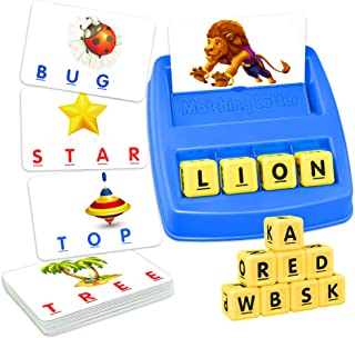 ATOPDREAM TOPTOY Matching Letter Game for Kids - Educational Toys Stocking Stuffer Stocking Fillers Christmas Xmas Gifts P...
