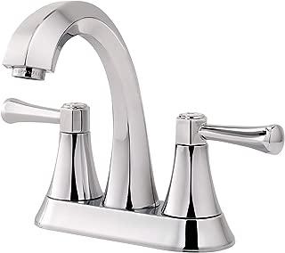 Pfister LF-048-AVCC-R Altavista 2-Handle 4in Centerset Bathroom Faucet in Polished Chrome (Renewed)
