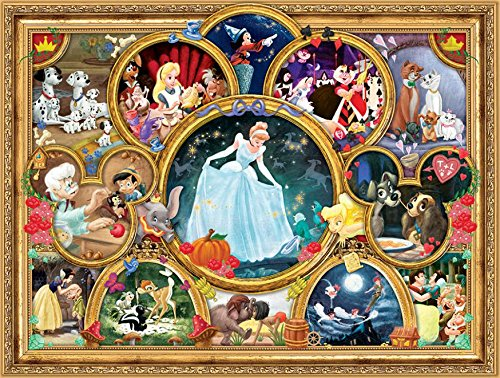 Ceaco Disney Classics Classic Collage Jigsaw Puzzle, 1500 Pieces