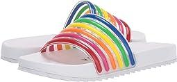 Rainbow/White