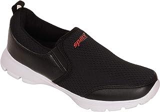 SPARX Men Black Red Slip on Sports Shoes