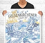 Lieferlokal Stadtposter Gelsenkirchen in limitierter