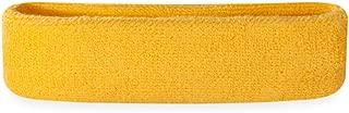 yellow sweatband