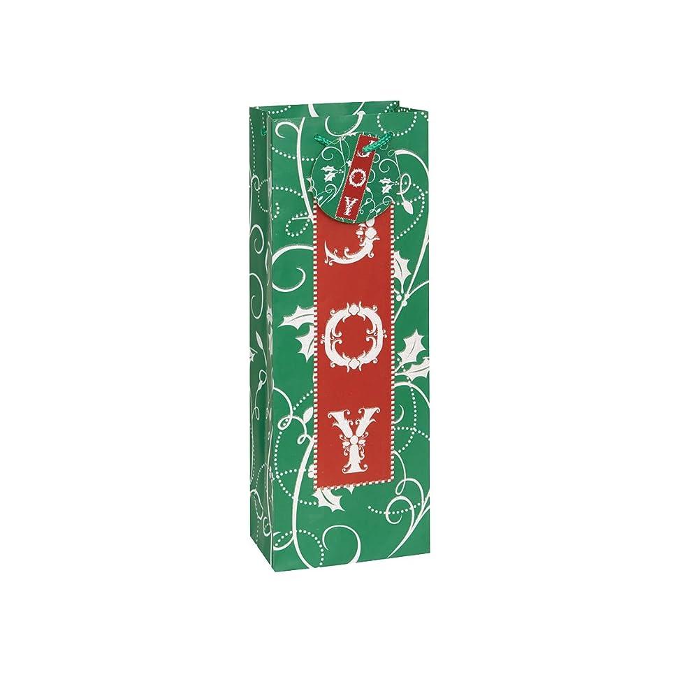 Joy Holiday Wine Bag