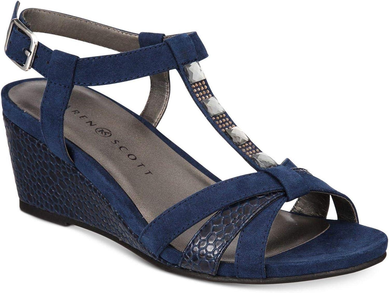 Karen Scott Womens Clarita Open Toe Formal Slingback Sandals