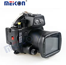 Meikon for Canon Camera EOS M Housing Underwater 40m Videography Photograpy Waterproof Case Cover Scuba Sport Camera Protective Bag …