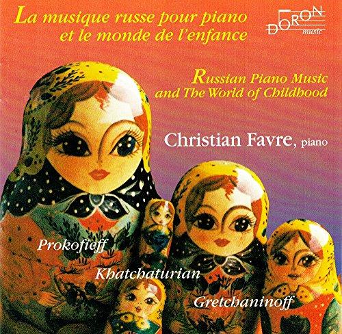 pas cher un bon Musique de piano russe et monde de l'enfance