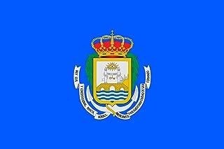 magFlags Large Flag San Fernando, Cádiz, Spain | Landscape Flag | 1.35m² | 14.5sqft | 90x150cm | 3x5ft - 100% Made in Germany - Long Lasting Outdoor Flag