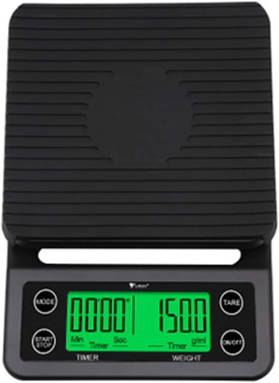 Digital Kitchen Scale Food Coffee Timer Overseas Selling parallel import regular item With