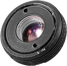 uxcell Black CCTV Box Camera 3.7mm Pinhole Focal Length Cone Board Lens F2