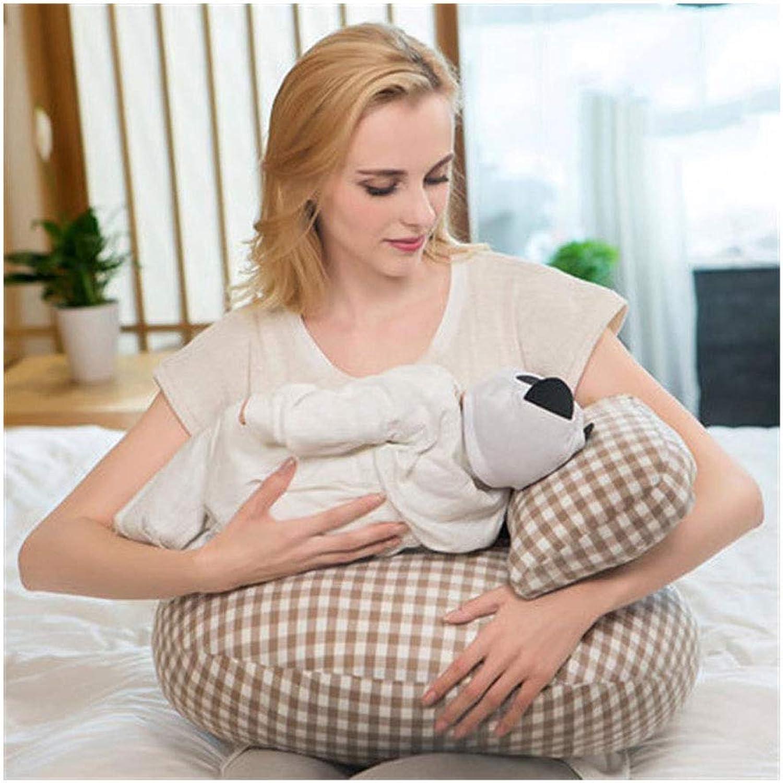 El ultimo 2018 JFMBJS Almohada de Lactancia, Lactancia Materna, Almohada de Maternidad con con con Funda de Almohada 100% Algodón, Lavable Extraíble, Relleno de Fibra de Poliéster  punto de venta barato
