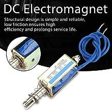 sourcing map DC24V 5KG Levage Organisation /électrovanne /électro-aimant sol/éno/ïde 25mm Dia