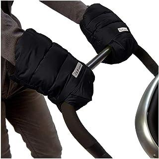 7 A.M. Enfant Warmmuffs Stroller Gloves with Universal Fit (Black)