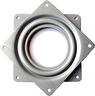 Lazy Susan Square Ball Bearing Turntable 3.7-Inch 300-LB Load Capacity, 8-Pack