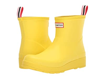 Hunter Original Play Boot Short Rain Boots (Wader Yellow) Women
