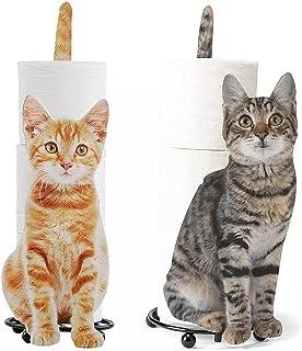 YANZHU Kitten Roll Papier Decoraties Huishoudelijke Servet Houders Toiletpapier Handdoek Houders Ijzer Ambachten Cat-Vormi...