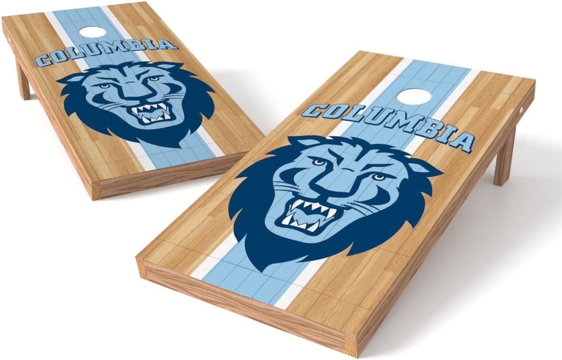 Wild Sports NCAA College Wisconsin Milwaukee Panthers 2 x 3 Hardwood Cornhole Game Set