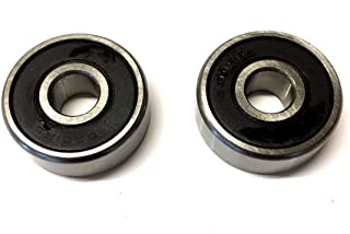 Set Of Two 6006-z Axle Bearings Go Karts Scooters Atv Dirt Bikes Pit Bikes