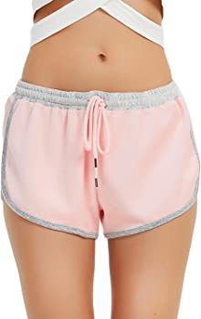 New Dance Womens Dolphin Running Workout Shorts