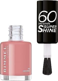 Rimmel London, 60 Seconds Super Shine Nail Polish 711 Xposed, 8 ml - 0.25 fl oz