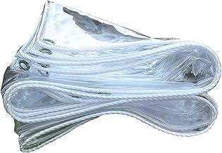 LIANGJUN Transparant Regendoek, Regendicht Voorruit, Dikken pvc Zacht glas cover, dekzeildoek, stand by op maat gemaakt, d...